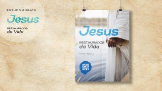 Arte Aberta e Logo – Estudo Bíblico: Jesus Restaurador da Vida