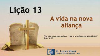 PPT Lição 13 – Escola Sabatina