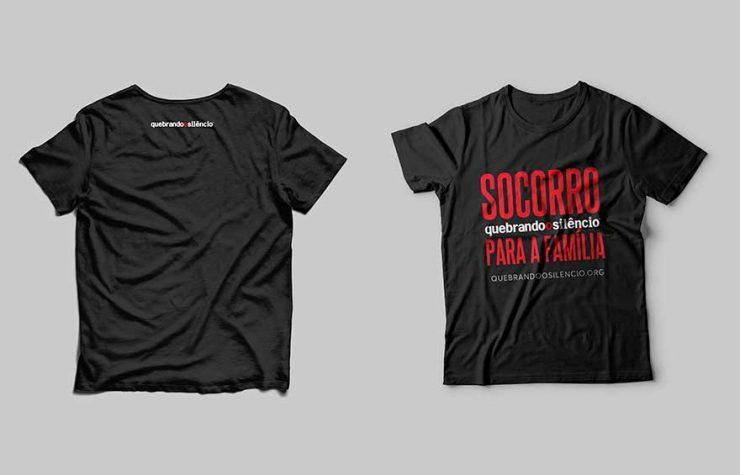 Camiseta   Quebrando o Silêncio 2021