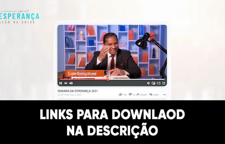 Videos: Sermões | Semana da Esperança 2021