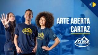 Arte aberta | Cartaz Missão Calebe 2022