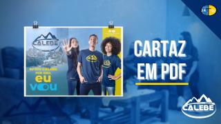 PDF | Cartaz Missão Calebe 2022