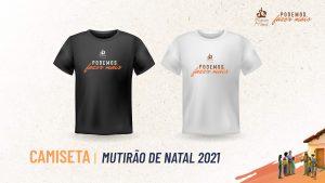 Camiseta | Mutirão de Natal 2021