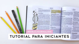 Como fazer Bible Journaling