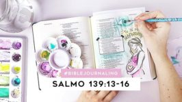 Bible Journaling com aquarela