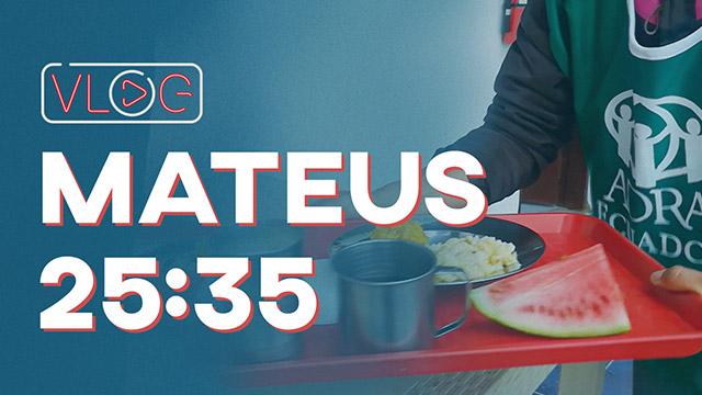 Mateus 25:35