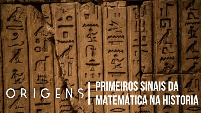 Primeiros sinais da matemática na história