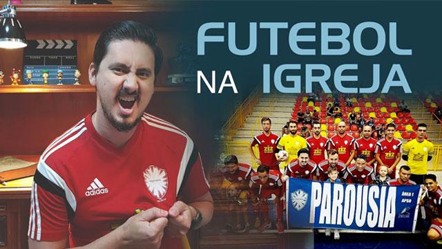 Futebol na igreja