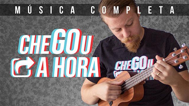 Música Chegou a Hora no ukulele