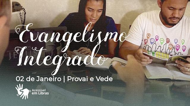 Evangelismo integrado – Libras