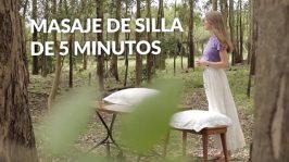 Masaje de silla en 5 minutos