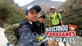 Buscando toboganes naturales