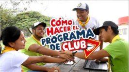 Cómo hacer el programa del Club