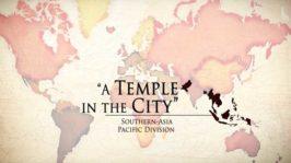 Un templo en la ciudad