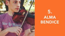 Alma bendice