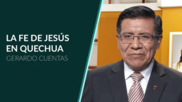 Fe de Jesús: Quechua