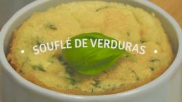 Souflé de verduras