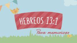 Hebreos 13:1