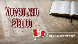 Vocabulario bíblico