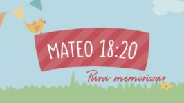 Mateo 18:20