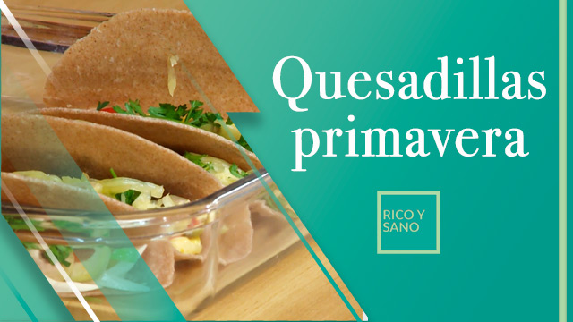Quesadillas primavera