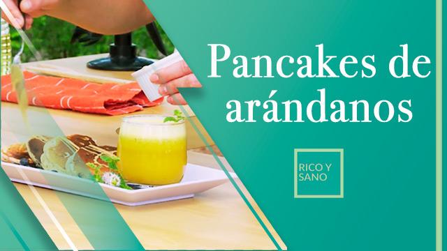 Pancakes de arándanos