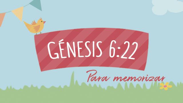 Génesis 6:22
