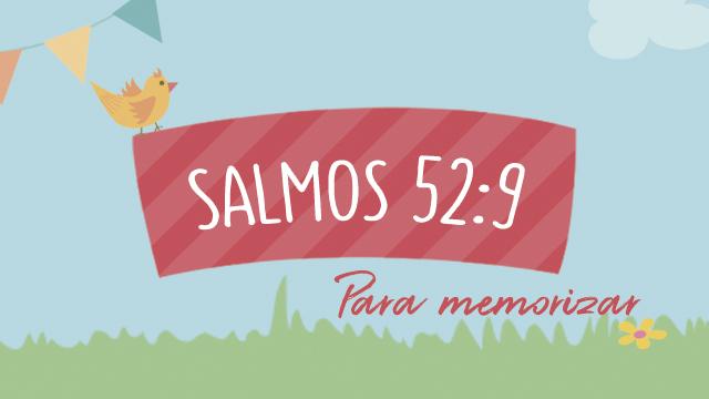 Salmos 52:9