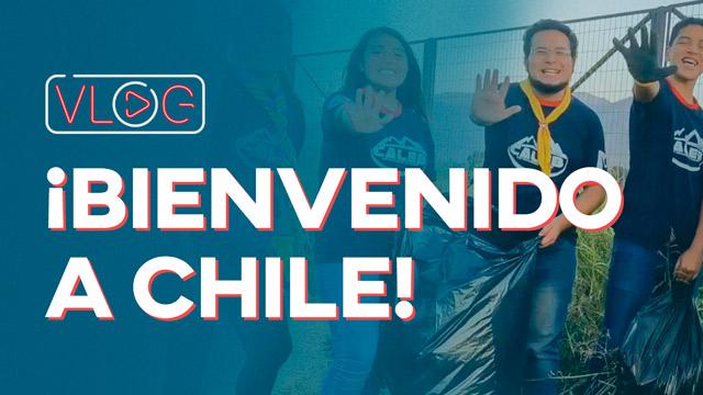 ¡Bienvenido a Chile!