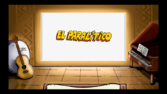 El paralítico karaoke
