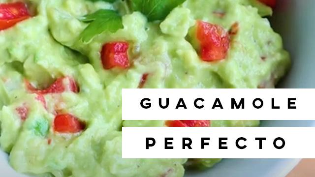 El guacamole perfecto