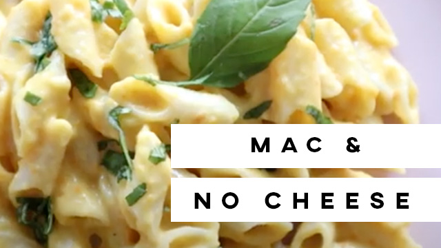 Mac & No Cheese