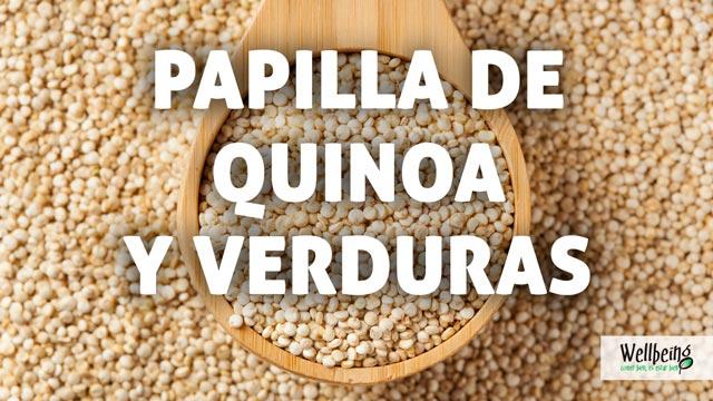 Papilla de quinoa y verduras