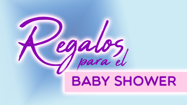 Regalos del baby shower