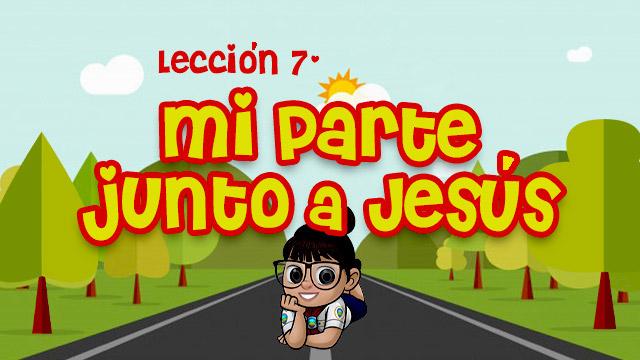 Mi parte junto a Jesús