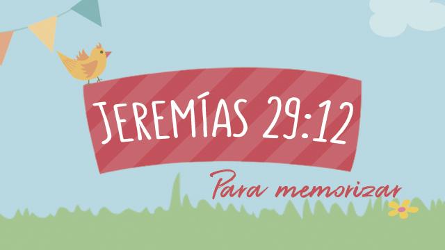Jeremías 29:12