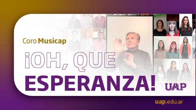 Oh que esperanza – Musica Alumni