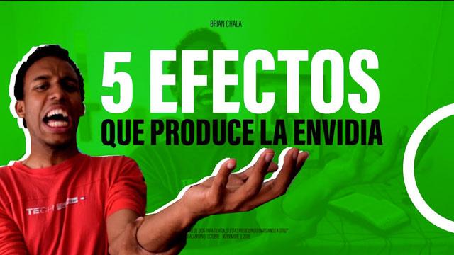 5 EFECTOS que produce la ENVIDIA