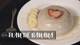 Flan de Banana