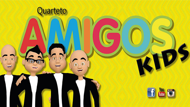 thumbnail - Quarteto Amigos Kids