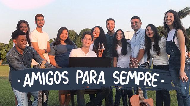thumbnail - Amigos pra sempre (cover)