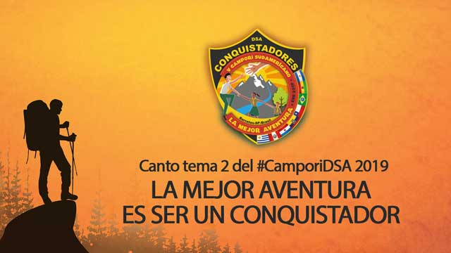thumbnail - Canto tema del Campori | LA MEJOR AVENTURA ES SER CONQUISTADOR