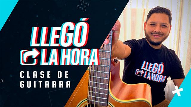 """thumbnail - Tutorial """"Llegó la hora"""" en guitarra"""