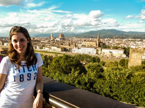 Karin, es argentina y trabaja como voluntaria en Italia, en el Instituto Adventista de Cultura Bíblica Villa Aurora.