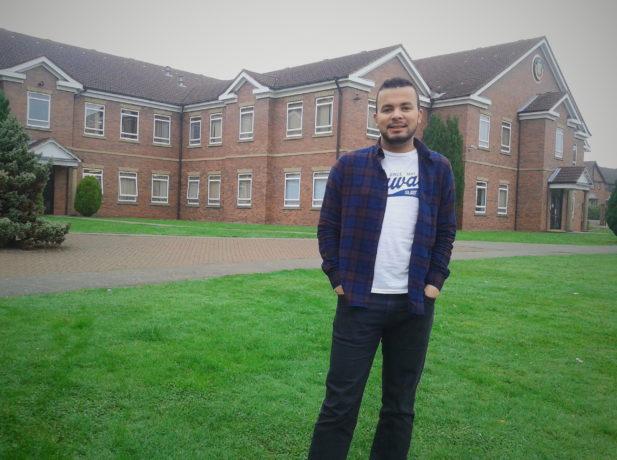 Marcelo Reis, voluntário na Escola de Stanborough