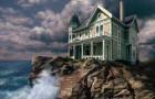 Casa na rocha