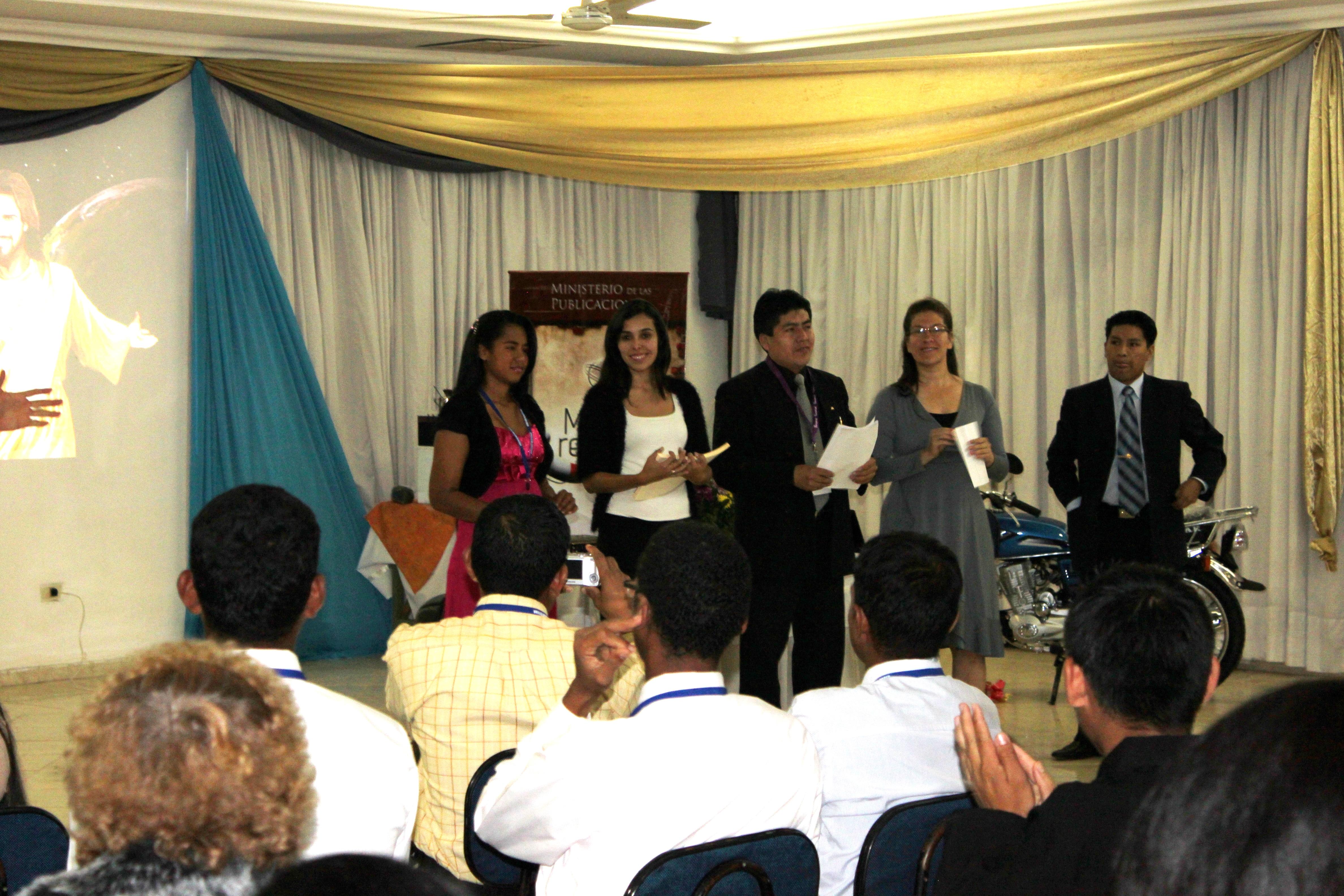 Concilio Anual de Publicaciones, dirigido a Colportores Permanentes