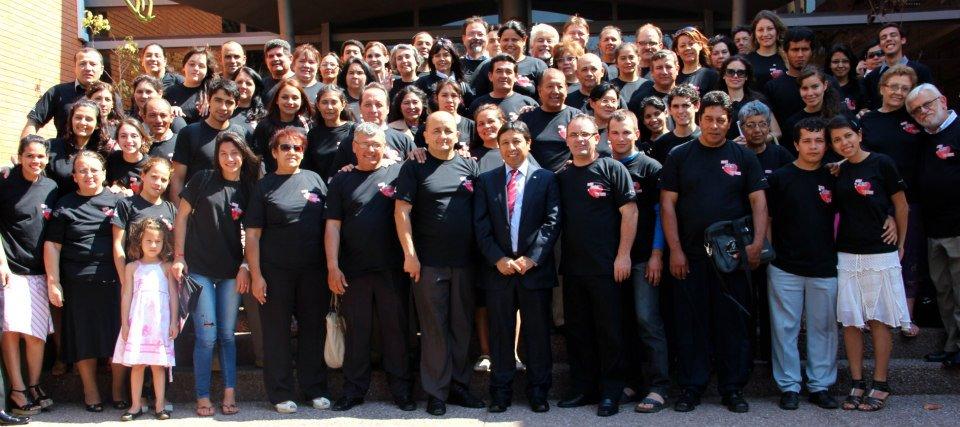 Directores y maestros de Escuela Sabática de la Unión Paraguaya
