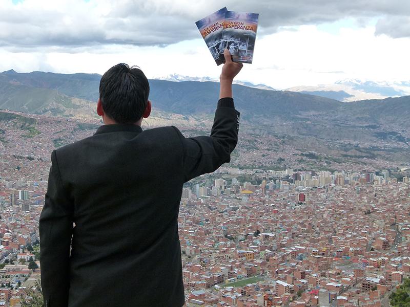 La iglesia repartirá libros La Gran Esperanza en el proyecto de Esperanza para las Grandes Ciudades