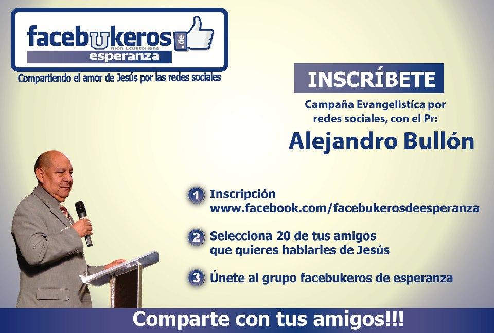 Facebukeros de esperanza en Ecuador